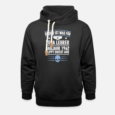 Production Year CONSTRUCTION YEAR 1962 - Unisex Shawl Collar Hoodie