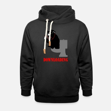 Download downloading - Unisex Shawl Collar Hoodie