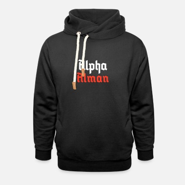 Alpha Alman - Felpa con colletto alto unisex