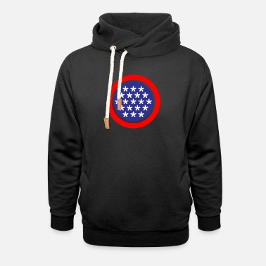 Stars And Stripes Stars and Stripes - Unisex Shawl Collar Hoodie