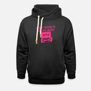 Personalize: Home Taping - Unisex Shawl Collar Hoodie