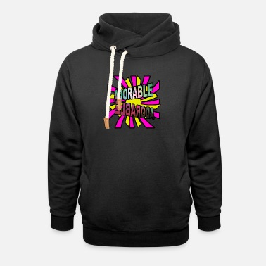 Glamour Glamourous t shirt gift - Unisex Shawl Collar Hoodie