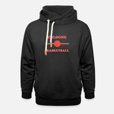 Cologne basketball - Unisex Shawl Collar Hoodie