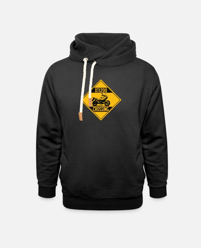 Travel Bug Hoodies & Sweatshirts - XT1200 Enduro Crossing - Unisex Shawl Collar Hoodie black