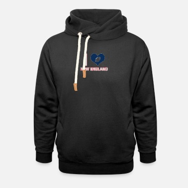 New England I love New England - Unisex Shawl Collar Hoodie