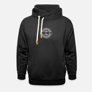 Made In Usa Made in USA - Geboren in den USA - Unisex Schalkragen Hoodie
