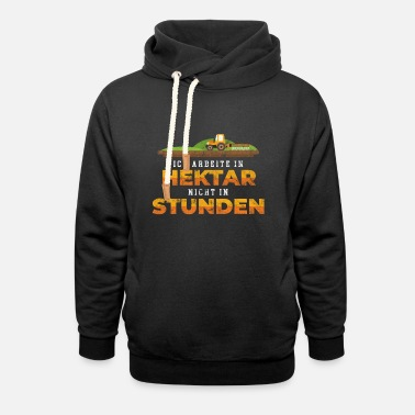 Land Egg Farmer land fields - Unisex Shawl Collar Hoodie