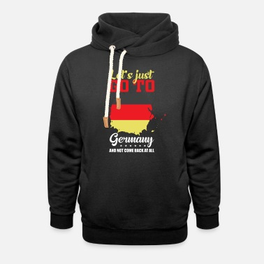 Central Europe Germany Europe - Unisex Shawl Collar Hoodie