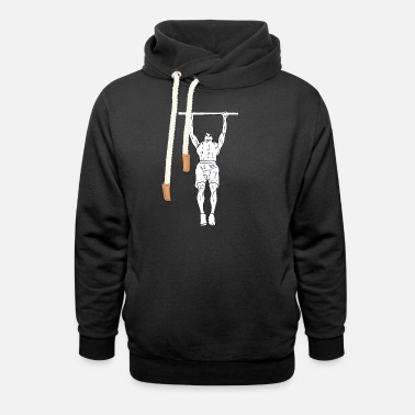 Pull Up pull-up - Unisex Shawl Collar Hoodie