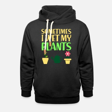 Plants Plant potted plant - Unisex Shawl Collar Hoodie