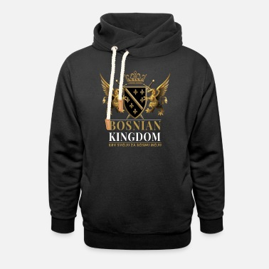 Bosnien Bosnian Kingdom - Unisex Shawl Collar Hoodie