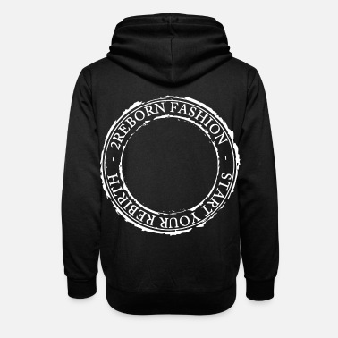 Logo 2reborn fashion Start your Rebirth circle - Unisex Schalkragen Hoodie