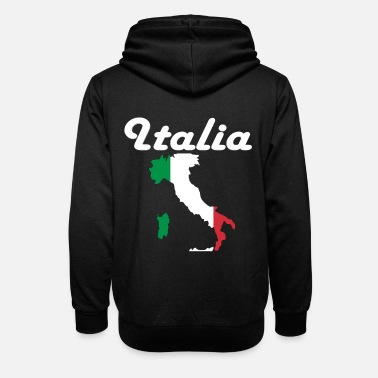Fan Article Italy fans - Unisex Shawl Collar Hoodie