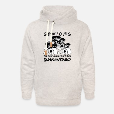 High School Graduate Funny high school graduation 2020 high school graduates - Unisex Shawl Collar Hoodie