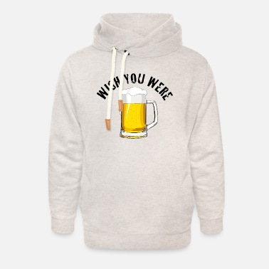 Wish You wish you were - Unisex Shawl Collar Hoodie