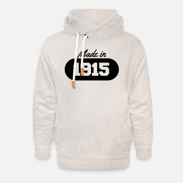 1915 Made in 1915 - Unisex Shawl Collar Hoodie