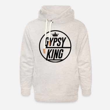 Gypsy King Tyson Fury Gypsy King Shirt - Unisex Shawl Collar Hoodie