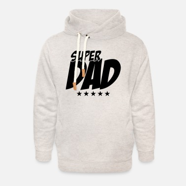 Super Dad - Father's Day - Unisex Shawl Collar Hoodie