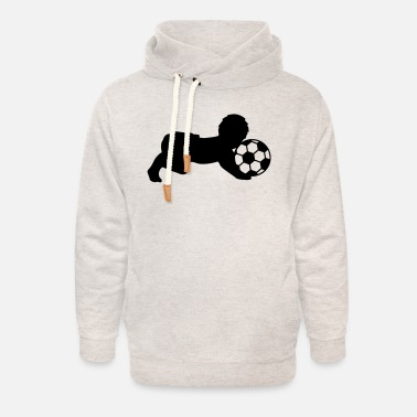 Soccer Ball Soccer Ball Baby - Felpa con colletto alto unisex
