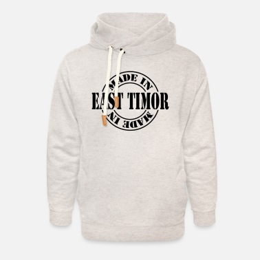 East made in east timor m1k2 - Unisex Shawl Collar Hoodie