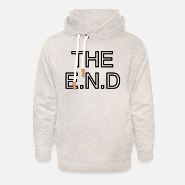 Vector the end - Unisex Shawl Collar Hoodie