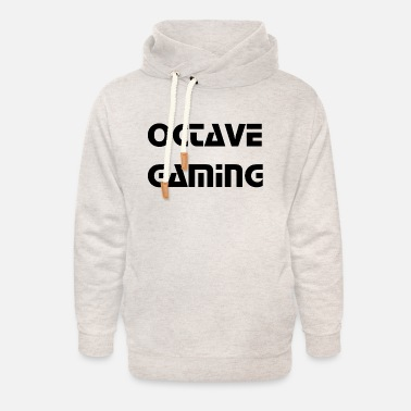 Octave octave gaming - Unisex Shawl Collar Hoodie