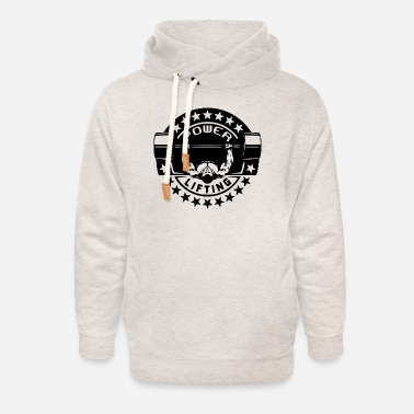 Muscle Powerlifting Bodybuilding Weightlifting Tea - Unisex Shawl Collar Hoodie