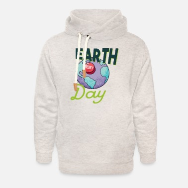 Enviromental Earth nature environmental protection nature conservation eco sustainable - Unisex Shawl Collar Hoodie