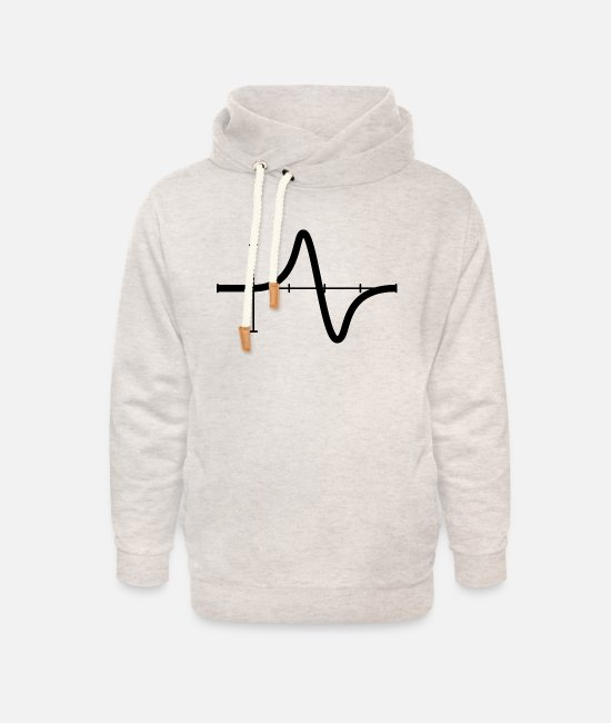 Power Hoodies & Sweatshirts - mathematics - Unisex Shawl Collar Hoodie heather oatmeal