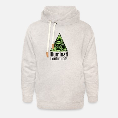 Confirmation Illuminati Confirmed funny gift - Unisex Shawl Collar Hoodie