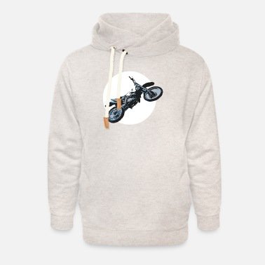 Enduro Sport Cool motorcycle gift idea - Unisex Shawl Collar Hoodie
