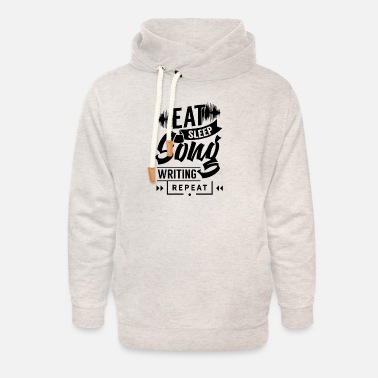 Best Songwriter Songwriter songwriter music songwriter song - Unisex Shawl Collar Hoodie