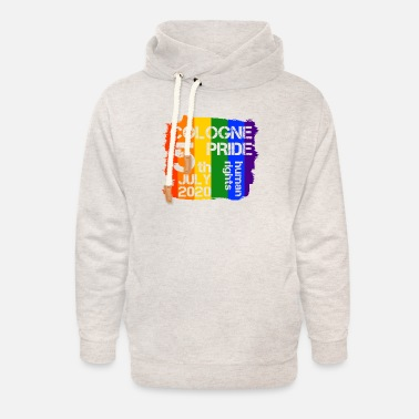 Coming LGBT Cologne Gay Pride CSD Queer Human Rights - Unisex Shawl Collar Hoodie