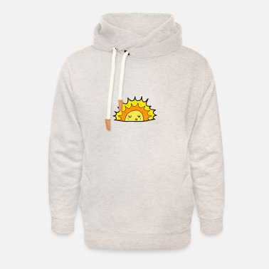 Girlie beach summer sun 2020 - Unisex Shawl Collar Hoodie