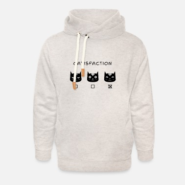 Satisfaction satisfaction - Unisex Shawl Collar Hoodie
