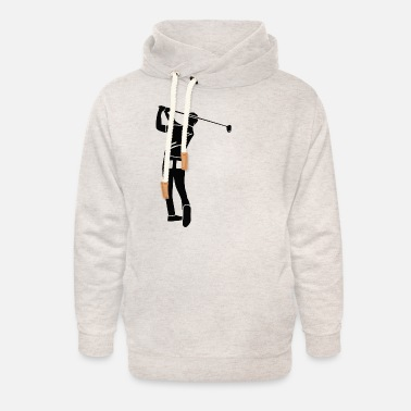 Golf Swing The perfect golf swing - Unisex Shawl Collar Hoodie