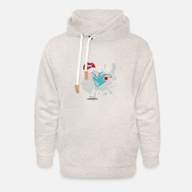 Coctail Coctail shop - Unisex Shawl Collar Hoodie