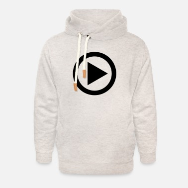 Blu Ray play - Unisex Shawl Collar Hoodie