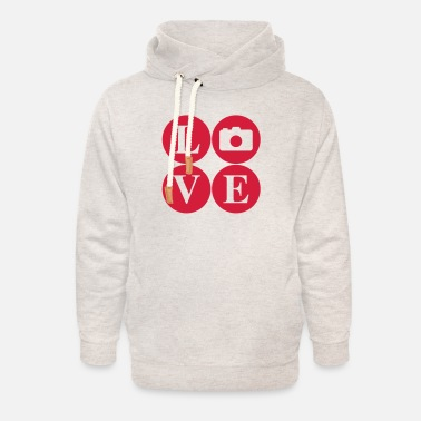 LoVE Photo - beloved images - Unisex Shawl Collar Hoodie