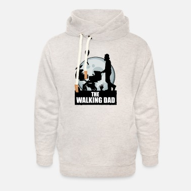 The Walking Dad Zwillinge THE WALKING DAD zombie - Unisex Schalkragen Hoodie
