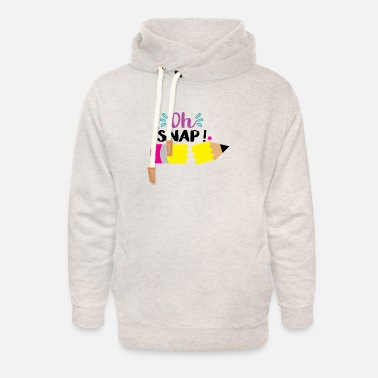 Star Oh snap - Unisex Shawl Collar Hoodie