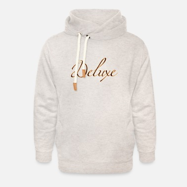 Deluxe deluxe deluxe - Sweat à capuche cache-cou unisexe