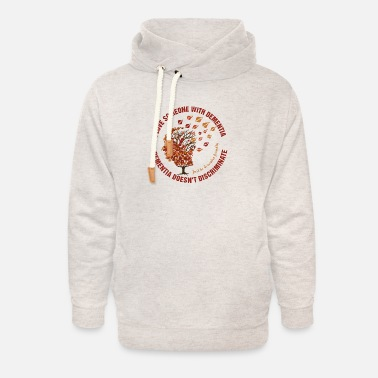 Mixed Dementia Dementia Doesn't Discriminate - Unisex Shawl Collar Hoodie