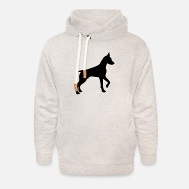 Hond dog hond love puppy dogs - Unisex Shawl Collar Hoodie