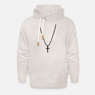 Necklace Necklace - Unisex Shawl Collar Hoodie