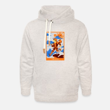 Salam The fool - Unisex Shawl Collar Hoodie