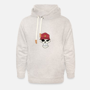 deady cells - Unisex Shawl Collar Hoodie