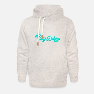 City Bike City bike - Unisex Shawl Collar Hoodie