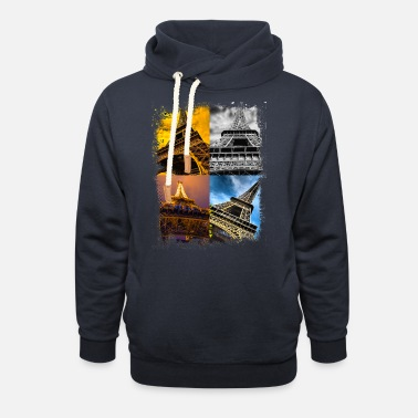 Champ Paris Frankreich France Eiffelturm Eiffel Tower - Unisex Shawl Collar Hoodie