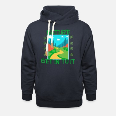 Nature NATURE - Get in to it - Unisex Shawl Collar Hoodie